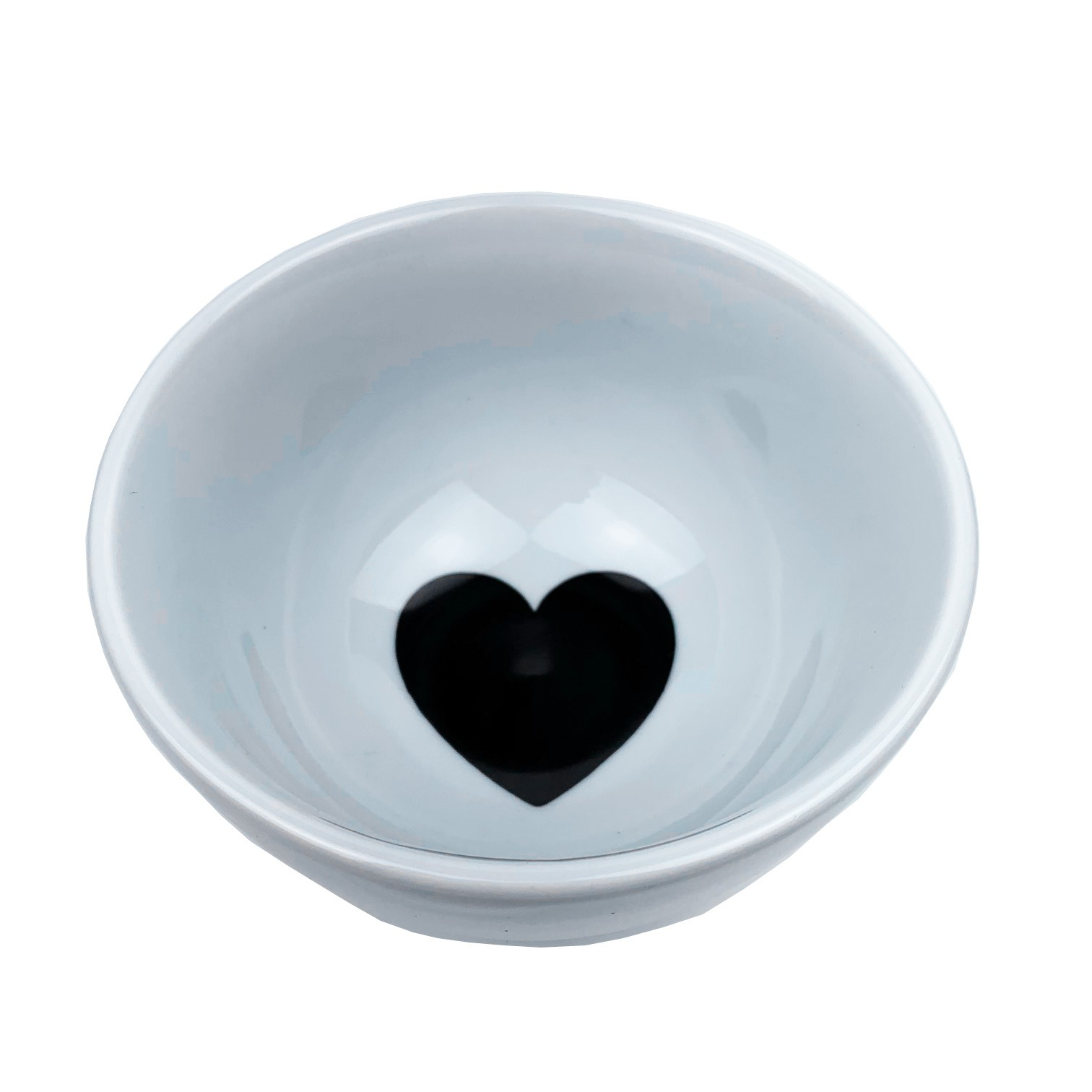 Bowl 500ml Black Heart