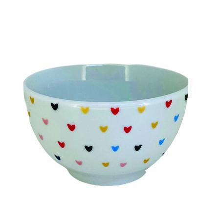 Bowl 500ml Hearts Colors