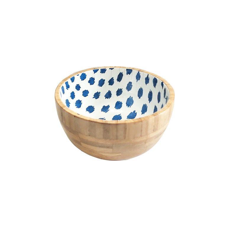 Bowl Madeira Blue Dots