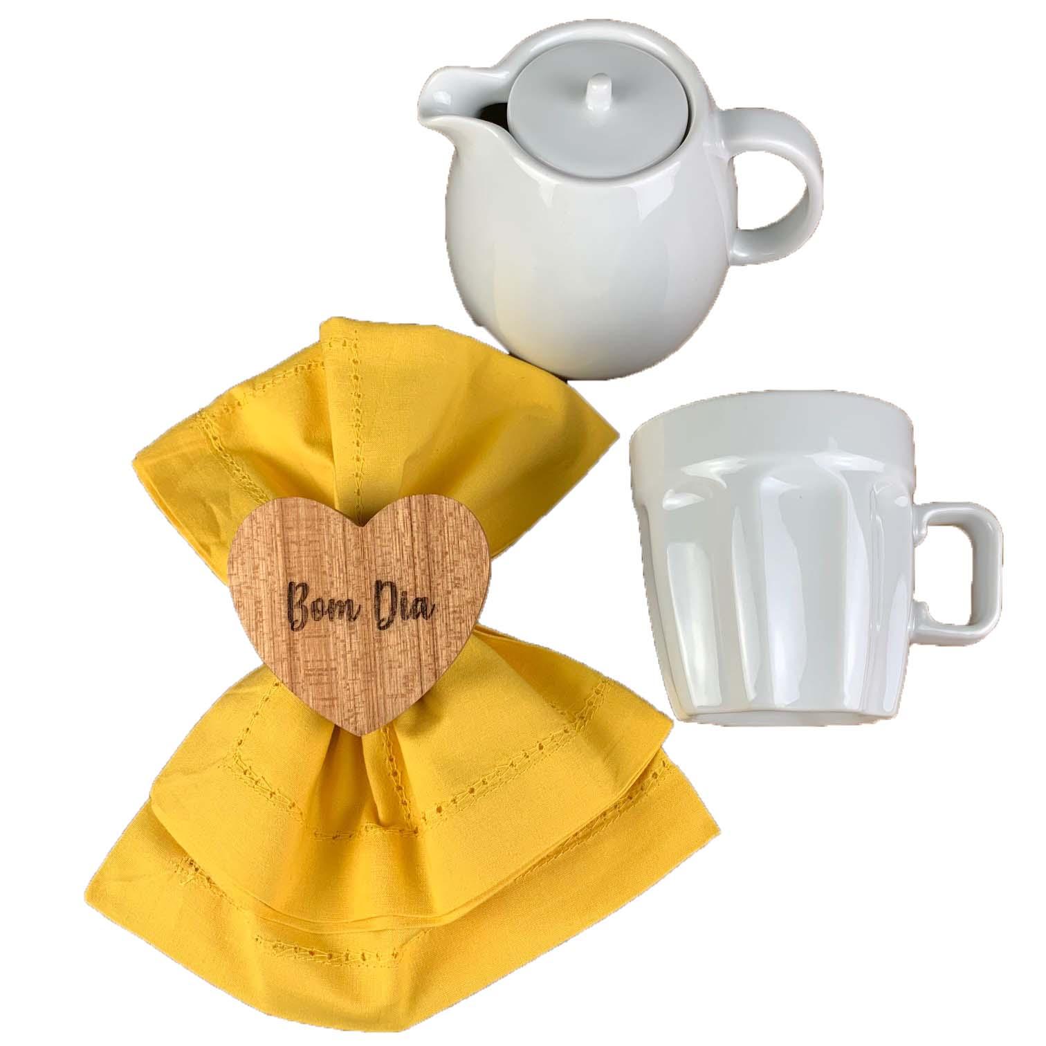 Box Café da Manhã c/4 peças