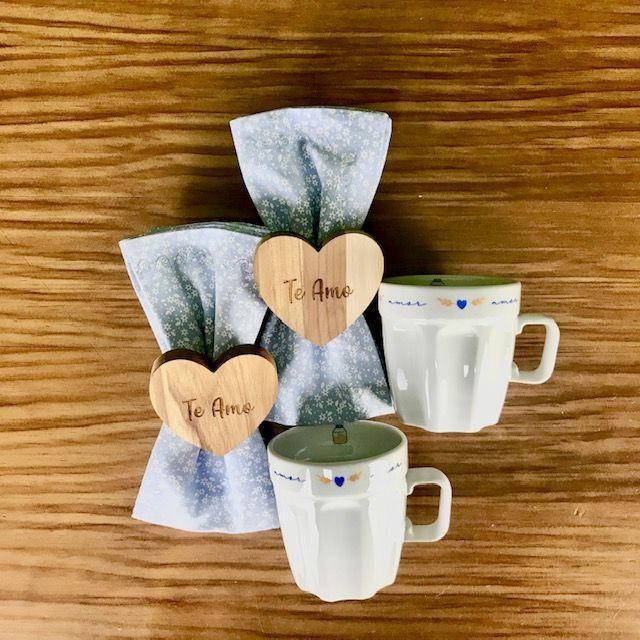 Box Café da Manhã Poções de Amor c/6 peças