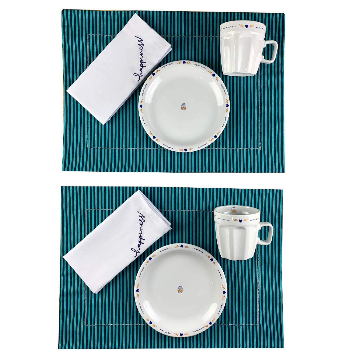 Box Café da Manhã Poções de Amor Felicidade c/ 8 peças