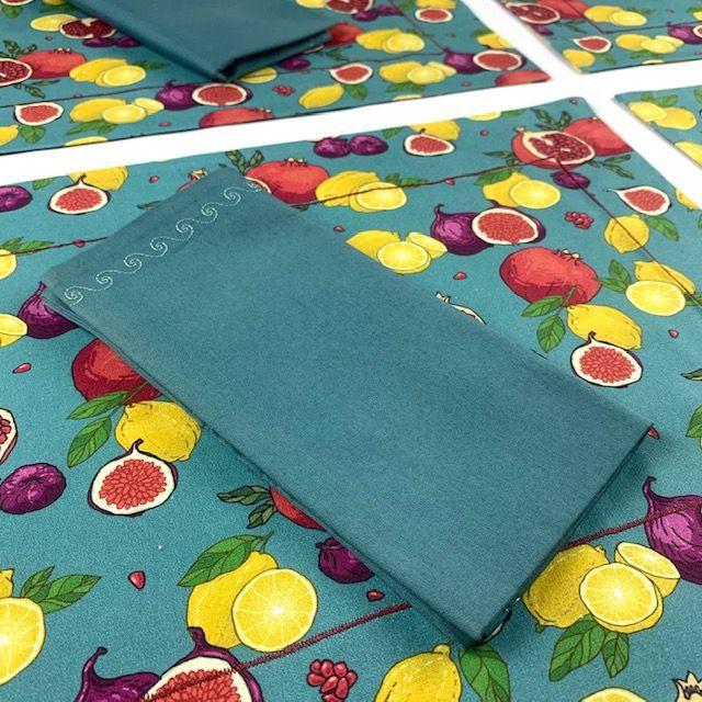 Box Color Romã Bom dia c/ 6 peças