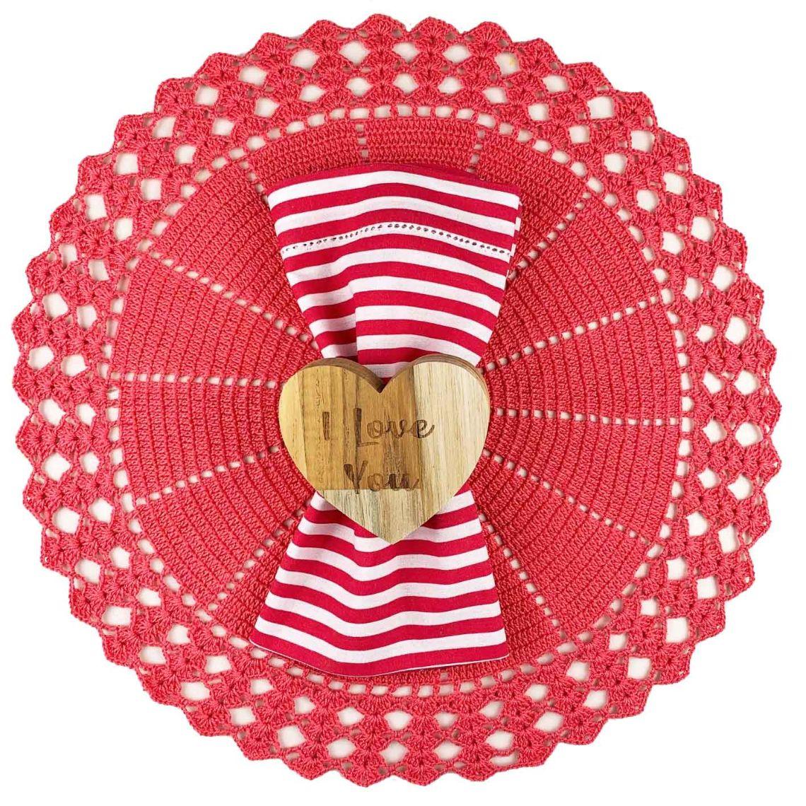Box Coral Red c/ 6 peças