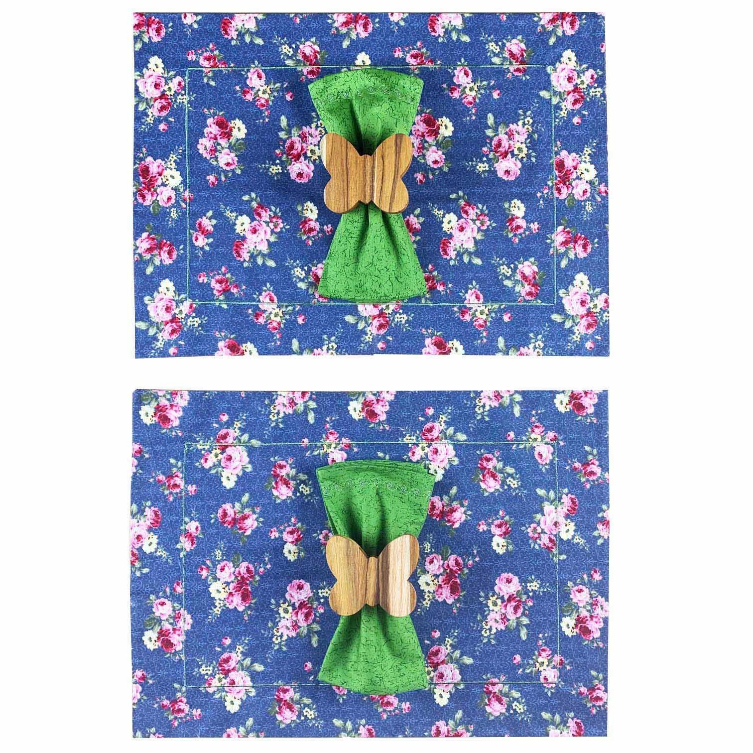 Box Garden Butterfly Azul c/ 6 peças