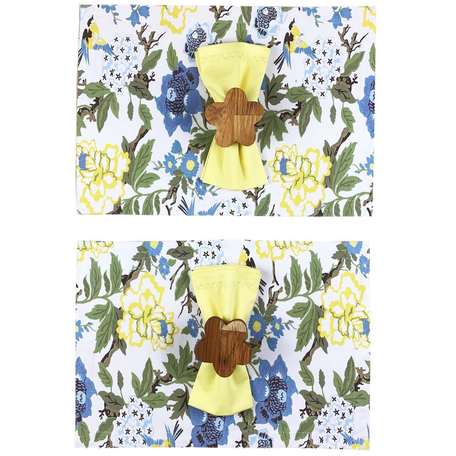 Box Garden Butterfly Yellow c/ 6 peças