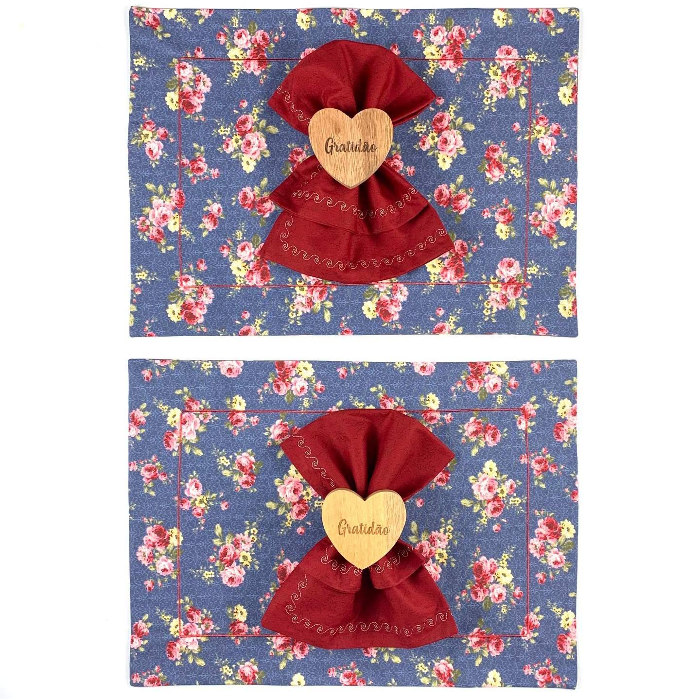 Box Gratidão Floral c/ 6 peças