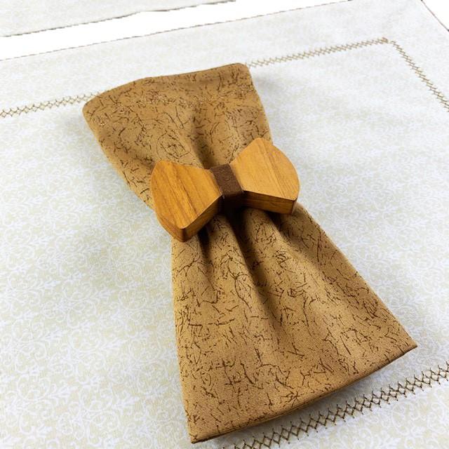 Box  Gravatinha Off White c/ 6 peças