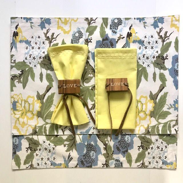 Box Love Bird Yellow c/ 6 peças