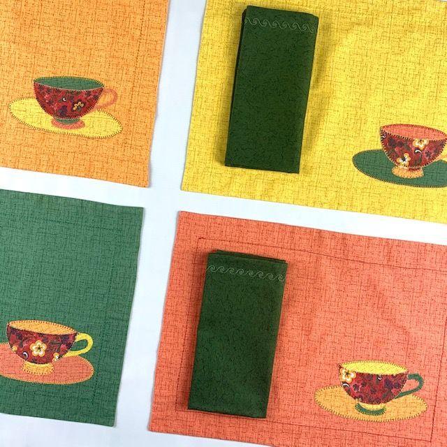 Box Mesa Posta Color c/8 peças