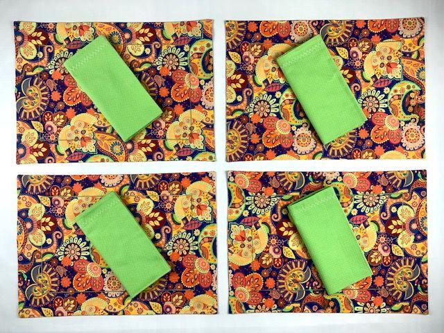 Box Mesa Posta Mandala Color c/8 peças