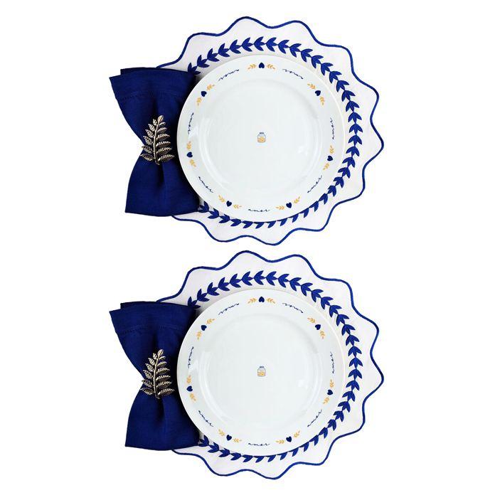 Box p/jantar ou almoço c/ 8 peças, louças em porcelana, coleção exclusiva Poções de Amor