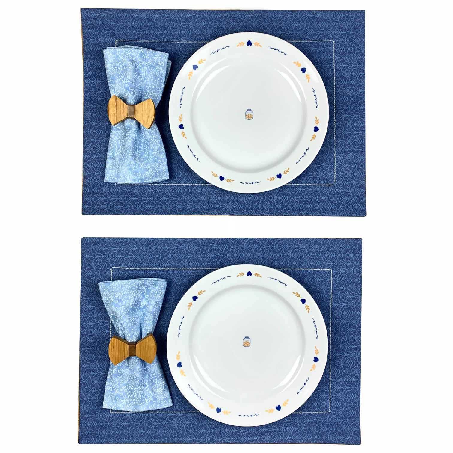 Box Poções de Amor Azul Gravatinha c/8 peças
