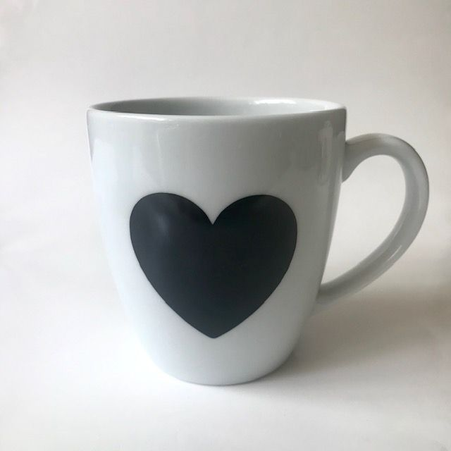 Caneca Black Heart 350 ml