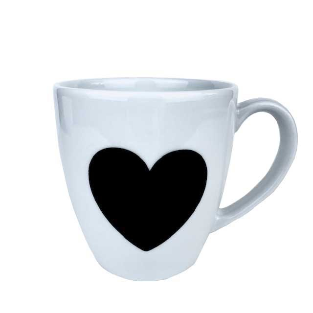 Caneca Black Heart 350 ml