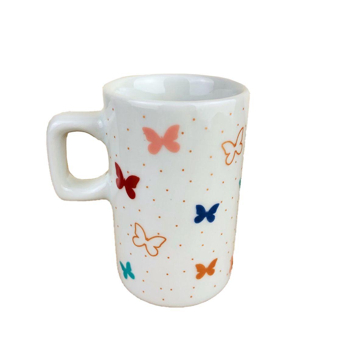 Jogo Coffee Break Butterfly Colors c/3 peças