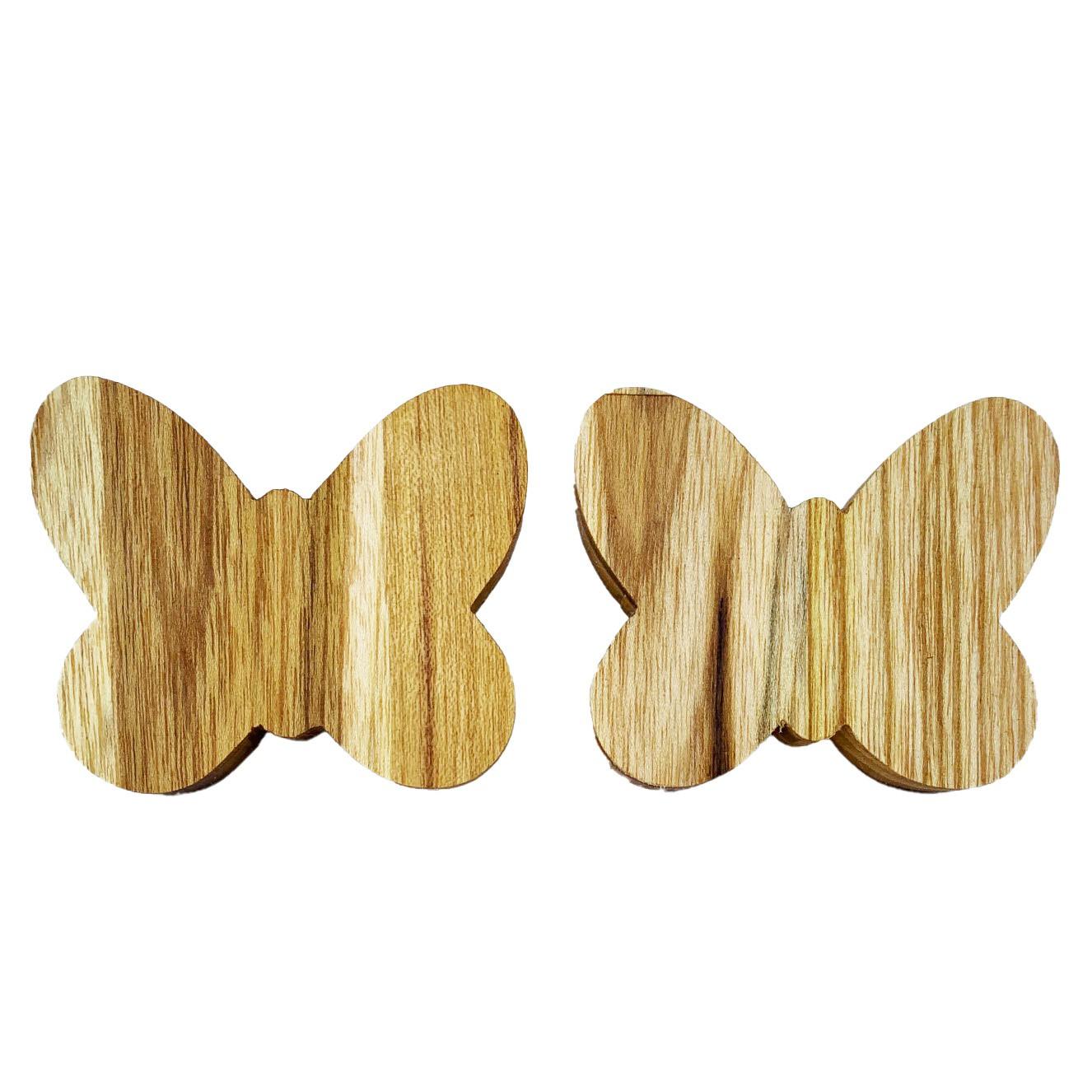 Jogo com 2 Argolas Garden Butterfly Madeira