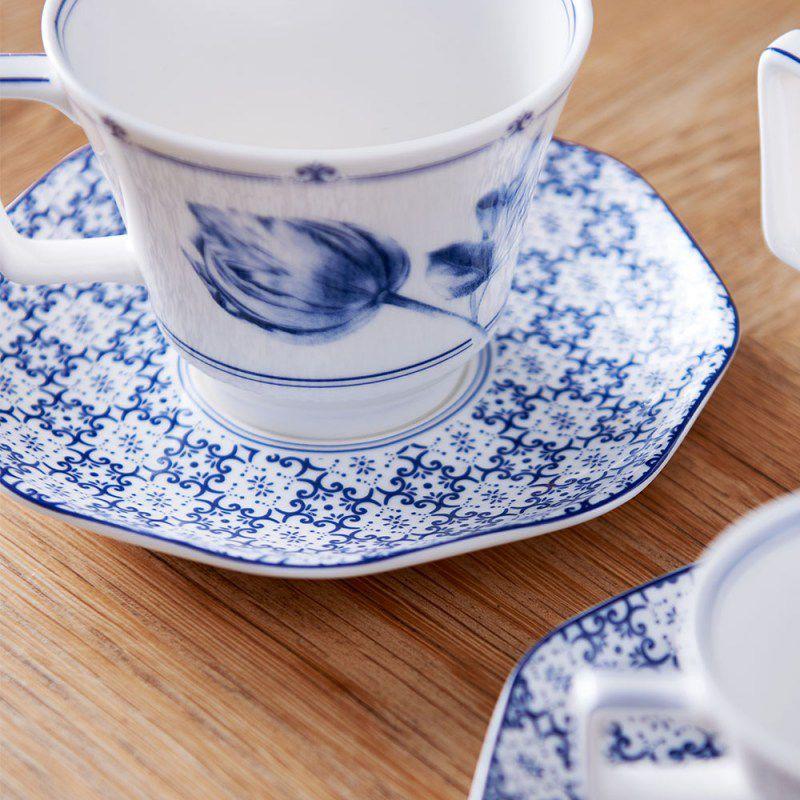 Jogo com 2 Xícaras de Chá com Pires Tiles Sharing Moments