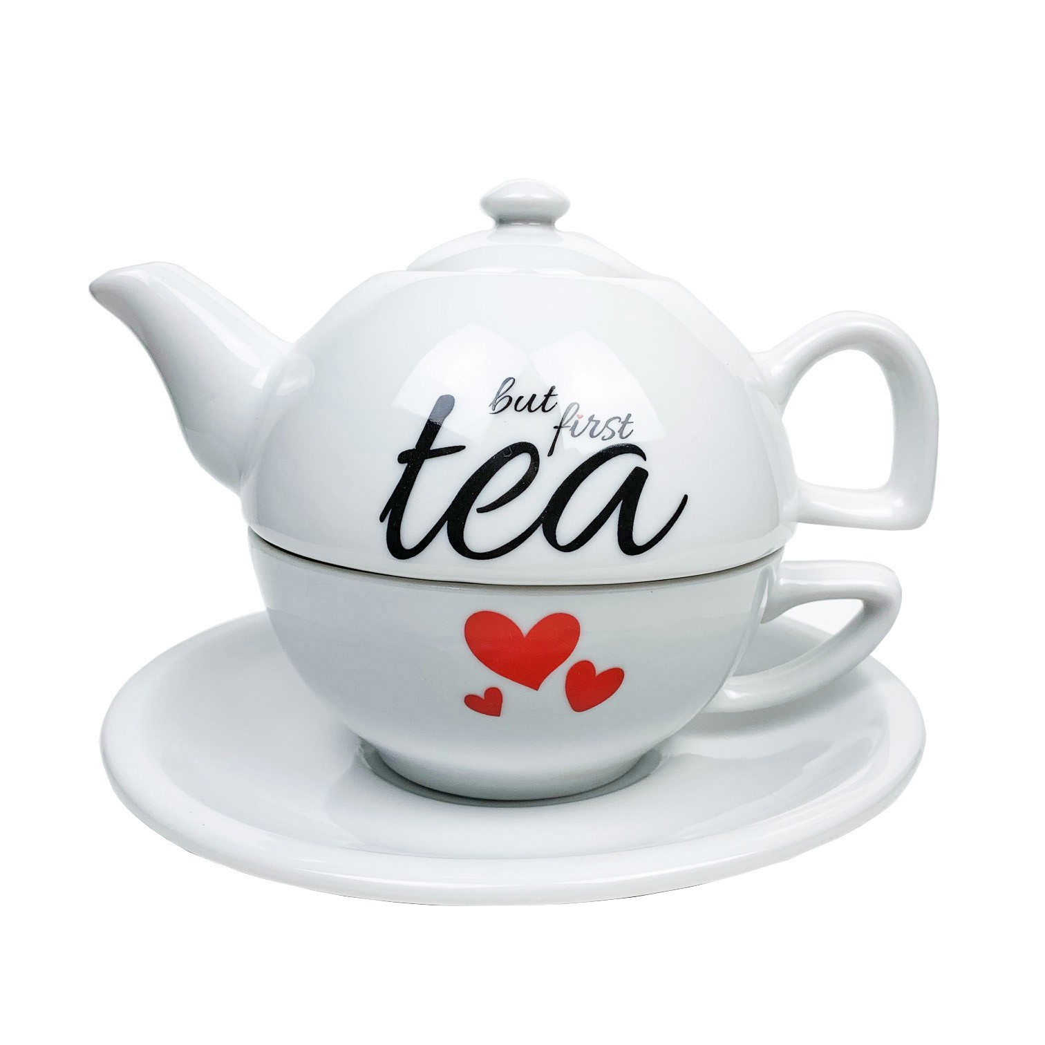 Jogo para Chá But First Tea 600ml