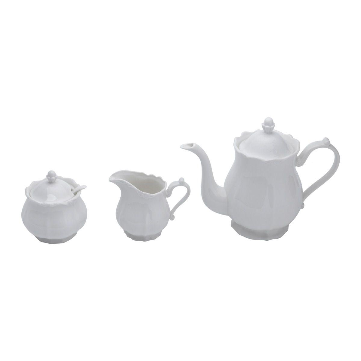 Jogo para Chá Porcelana Fancy