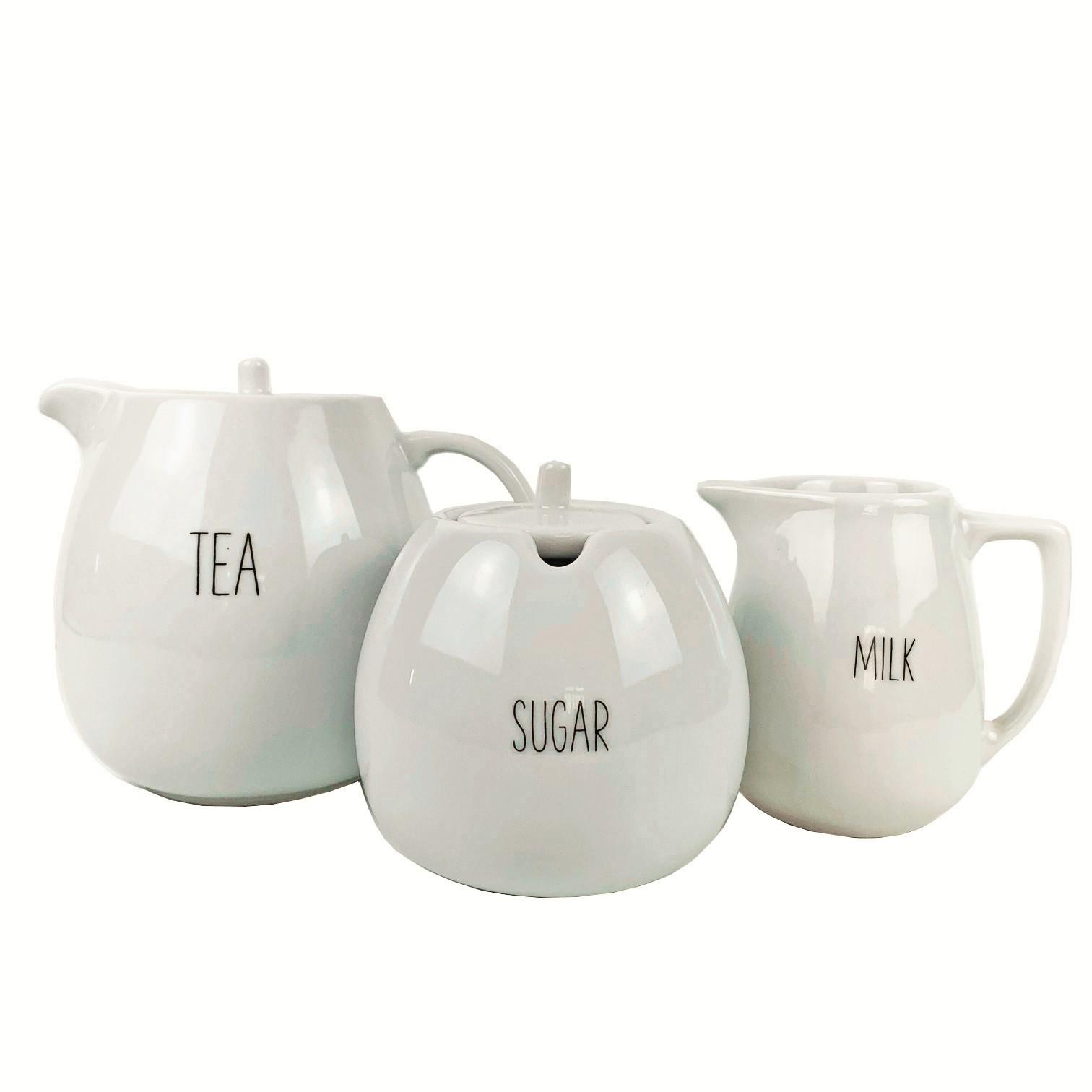 Jogo de Chá Tea Lettering  c/3 peças