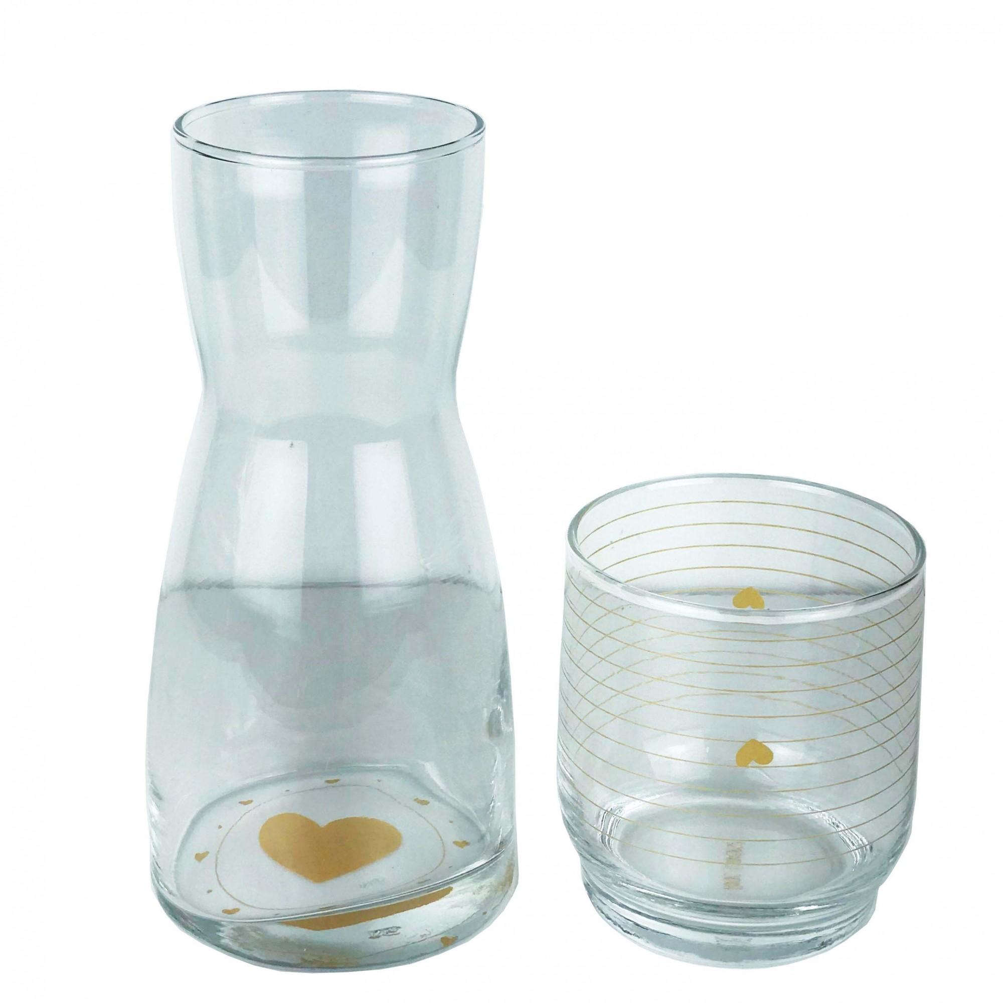 Moringa em vidro, 500 ml, coleção exclusiva Golden Mary