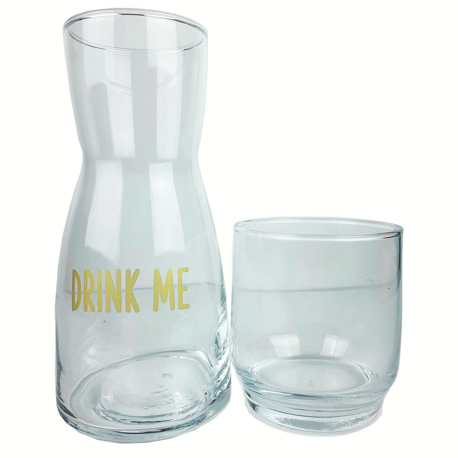 Moringa Lettering Gold Drink Me