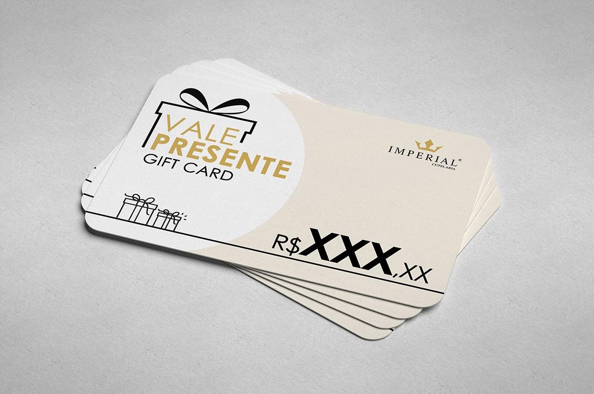 CARTÃO PRESENTE (GIFT CARD)
