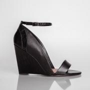 Anabela Veneto Black/Croco Black