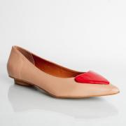 Sapatilha Love Confort Blush/Red