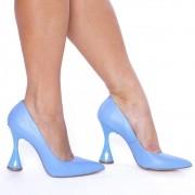 Scarpin Salto Taça Azul Candy