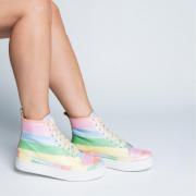 Tênis Cano Médio Rainbow
