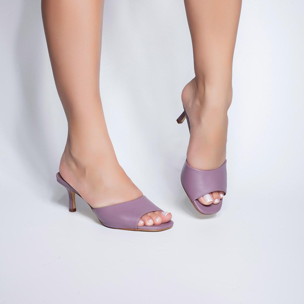 Mule Cinthia Lisa Birkei Lilac