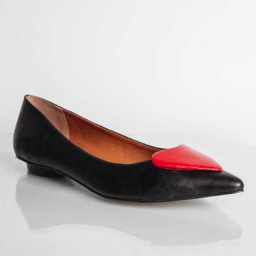 Sapatilha Love Confort Black/Red