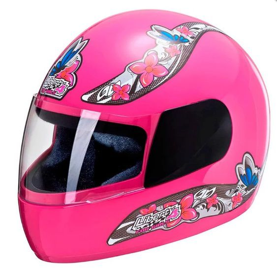 CAPACETE LIBERTY FOUR FOR GIRLS ROSA TAM.60