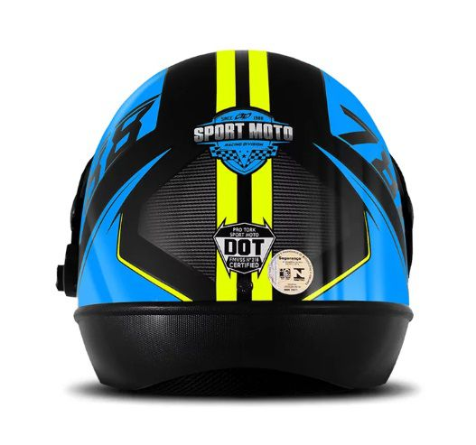 CAPACETE SUPER SPORT MOTO 2019 AZUL TAM. 60