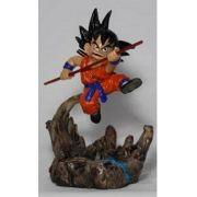 Boneco Dragon Ball Z - Goku Kid - Resina Artesanal