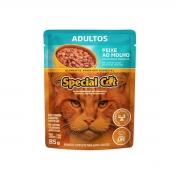 Caixa com 12 SACHÊ SPECIAL CAT ADULTOS SABOR PEIXE 12 x 85g