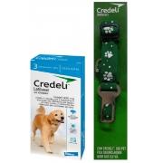 Credeli Pulgas e carrapatos cães entre  22 a 45 kg caixa com 3 comprimidos