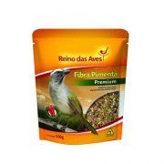 Ração para Pixarro / Trinca-ferro Fibra Pimenta 500g Reino das Aves