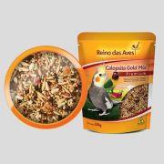 Ração Mix de sementes e frutas Calopsita 500G Reino das Aves