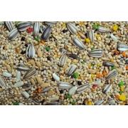 Mix ração Calopsitas, periquitos, Agapornis sementes, frutas e Mel 10 kg