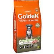Ração Golden Power Training Cães Filhotes Frango e Arroz 15 kg