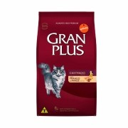 Ração GranPlus Premium Frango e Arroz para gatos castrados 10kg