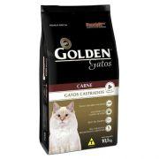 Ração para Gatos Castrados Golden Carne 10kg