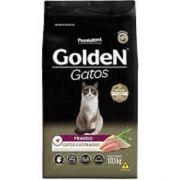 Ração para Gatos Castrados Golden Frango 10kg