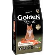 Ração para Gatos Castrados Golden Salmão 10,1 kg