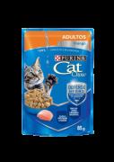 Caixa com 15 Sachê Cat Chow Adulto Frango 15 x 85g