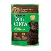 Caixa com 15 Sachê Dog Chow Purina Frango Adulto 15x100g