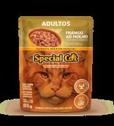 Caixa com 12 SACHÊ SPECIAL CAT ADULTOS SABOR FRANGO 12 x 85g